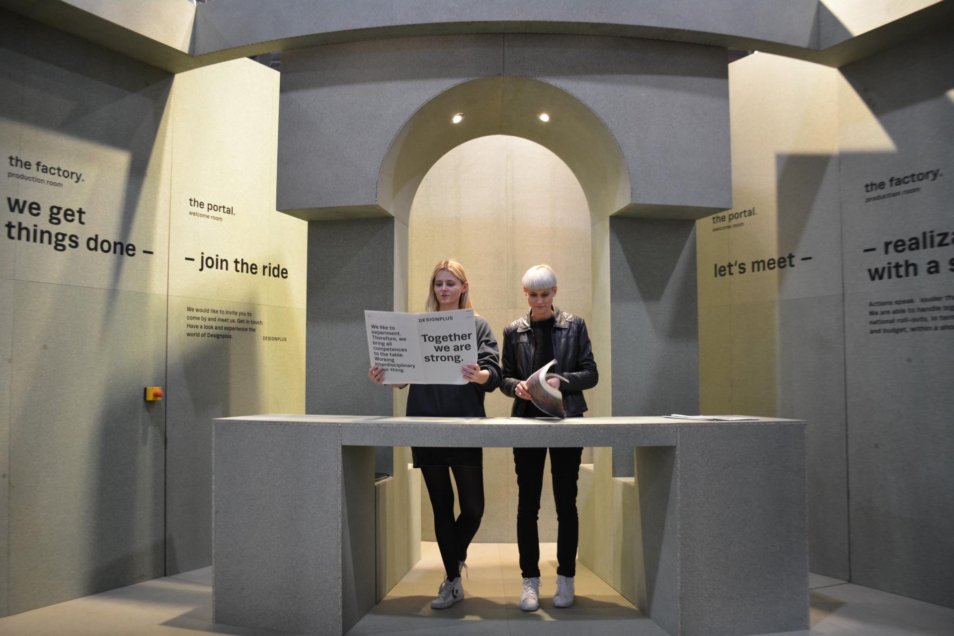 STUDIO LZ Designplus Euroshopmesse