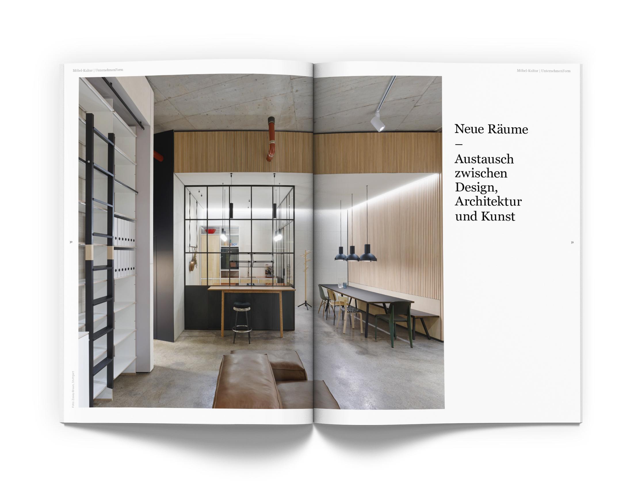STUDIO LZ — Lust auf Gut Stuttgart Magazin Design